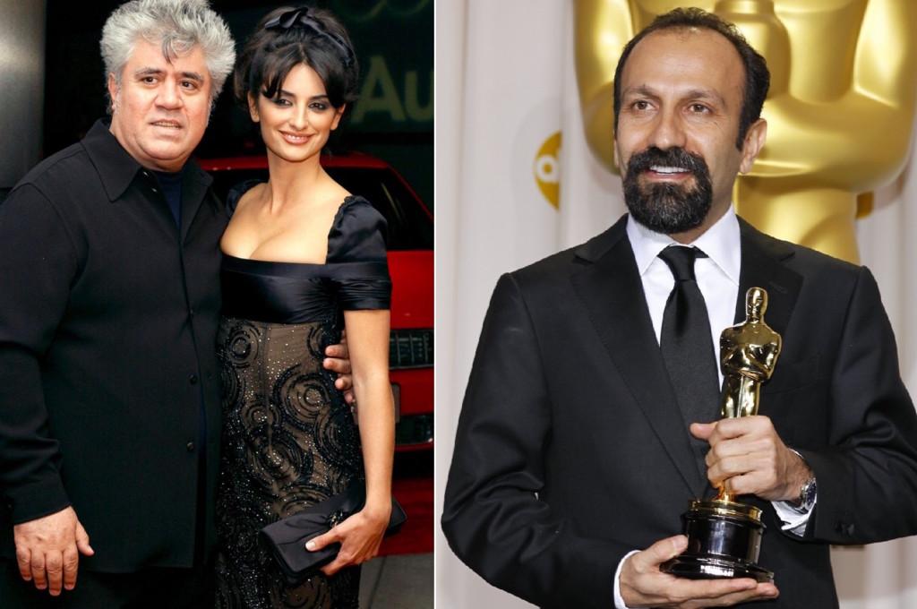 Pedro Almodovar Penelope Cruz Y Asghar Farhadi