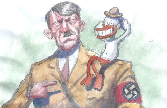 Dibujo Hitler Animador Walt Disney