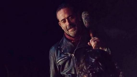 Captura del final de temporada de la sexta temporada de The Walking Dead
