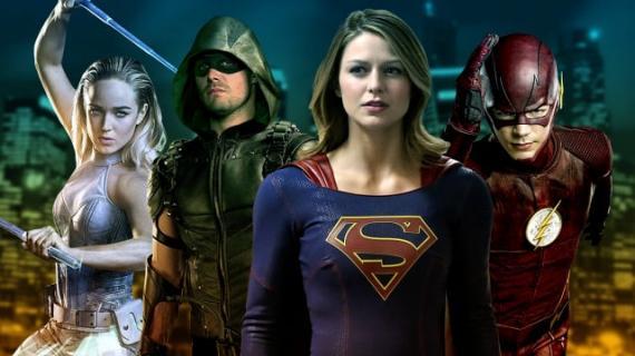 Arrow, The Flash, DC's Legends of Tomorrow y Supergirl se cruzarán