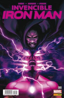 Invencible Iron Man 66 - Portada, por David Márquez