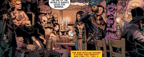 Doctor Extraño 4 - Panel interior de Chris Bachalo