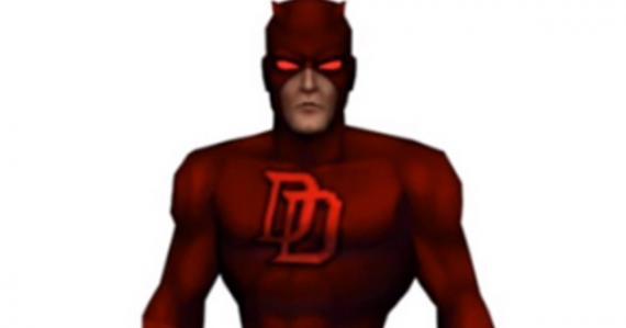Imagen del videojuego cancelado de Daredevil de 2003 para PlayStation 2
