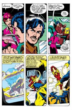Imagen de The Invincible Iron Man #120, por David Michelinie, Bob Layton y John Romita Jr.