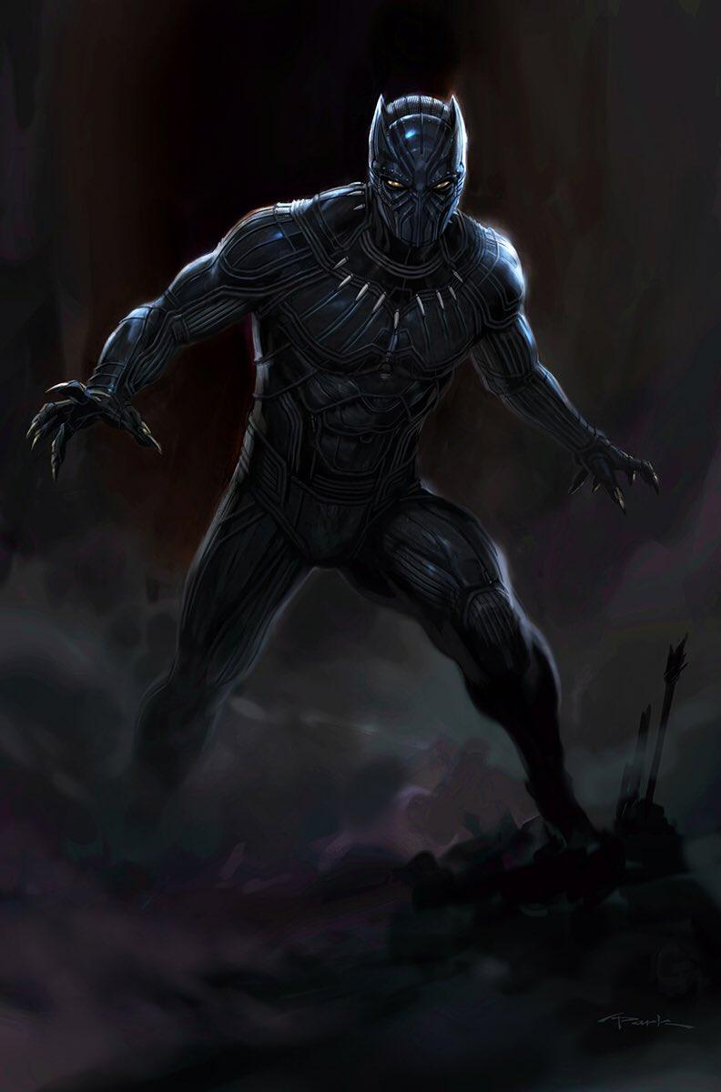 Black-Panther-Capitán América: Civil War Andy Park