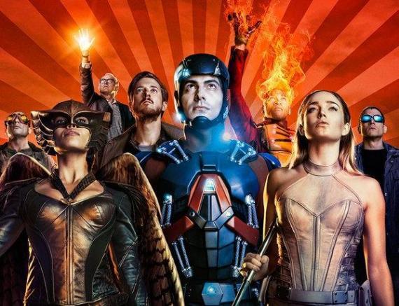Recorte del póster de DC's Legends of Tomorrow