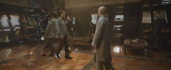 Captura del segundo trailer de Doctor Strange (2016)