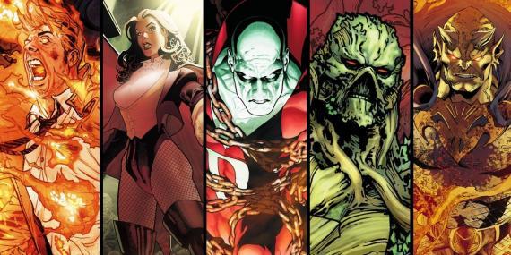John Constantine, Zatanna, Deadman, la Cosa del Pantano y Etrigan el Demonio serían los protagonistas de Dark Universe / Justice League Dark
