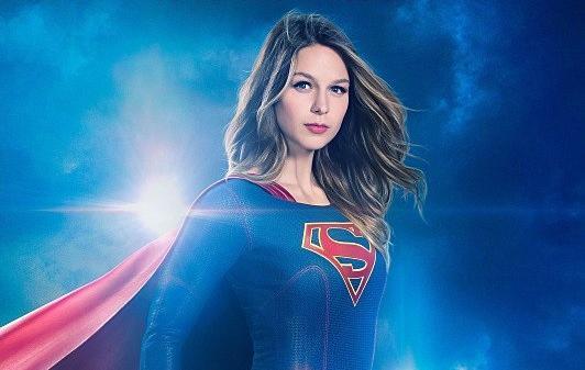 Recorte del póster de la segunda temporada de Supergirl
