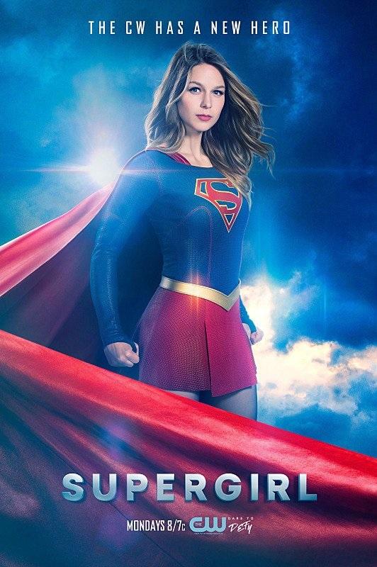 Póster de la segunda temporada de Supergirl