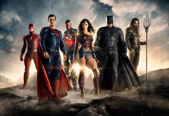 Primera imagen oficial de Justice League (2017)