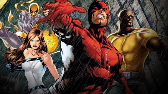 Puño de Hierro, Jessica Jones, Daredevil y Luke Cage son Los Defensores en Netflix