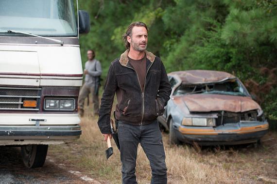 Imagen de The Walking Dead 6x12: Not Tomorrow Yet