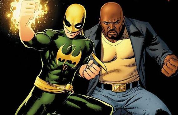 Iron Fist y Luke Cage en los cómics