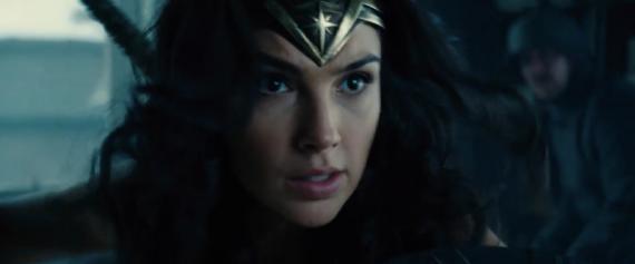Captura del primer trailer de Wonder Woman (2017)