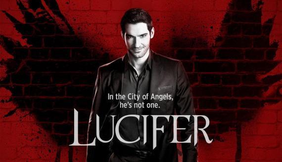 Póster de la segunda temporada de Lucifer