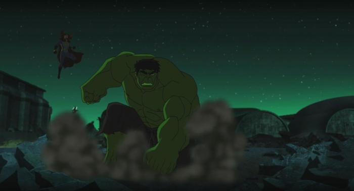 Captura del clip de Marvel's Hulk: Where Monsters Dwell (2016)