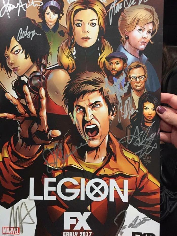 Poster a baja calidad de Legion