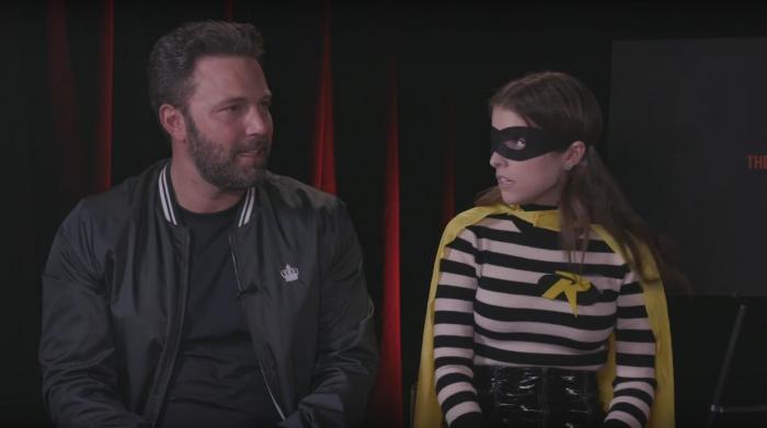 Ben Affleck y Anna Kendrick juegan con la idea de Robin en el DCEU