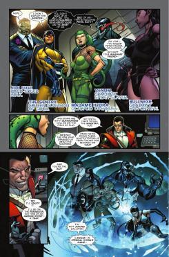 Interior del cómic AContest of Champions vol.2 #5, arte por Paco Medina