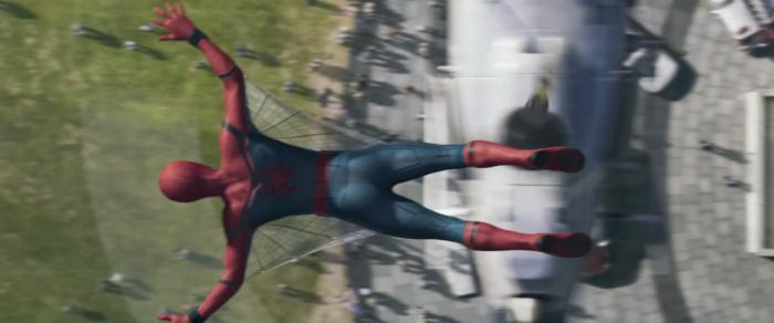 Captura del avance del trailer de Spider-Man: Homecoming (2017)