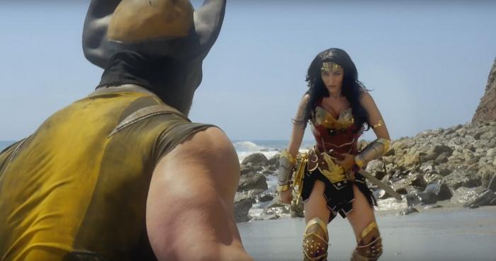 Wolverine contra Wonder Woman en un nuevo Super Power Beat Down