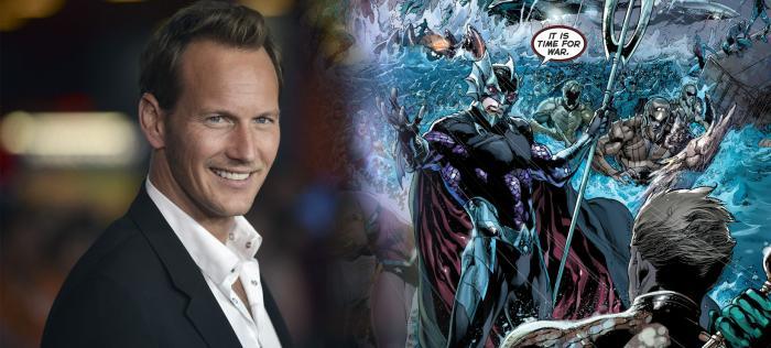 Patrick Wilson será Orm / Ocean Master en Aquaman
