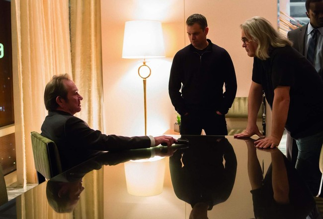 Tommy Lee Jones, Matt Damon y Paul Greengrass