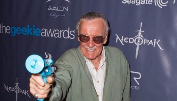 Stan Lee en los The Geekie Awards 2013