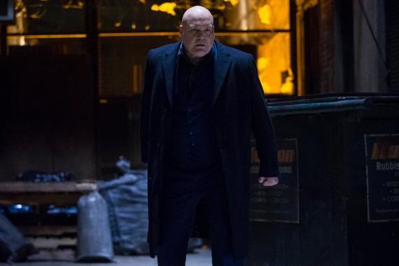 Vincent D'Onofrio como Kingpin en Marvel's Daredevil