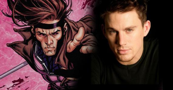 Channing Tatum es Gambito en Gambit (2016)