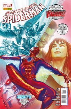 Asombroso Spider-Man 121 - Portada de Alex Ross