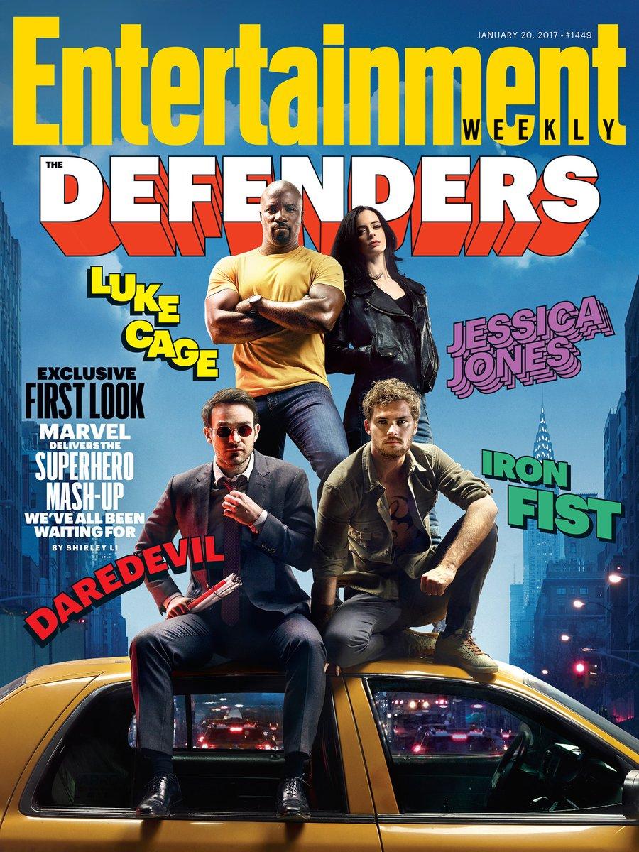 primera imagen oficial de the defenders (marvel y netflix)