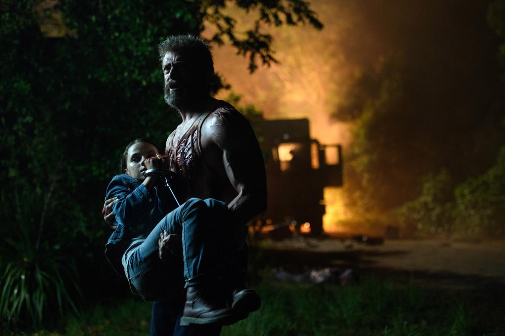 Una escena de Logan