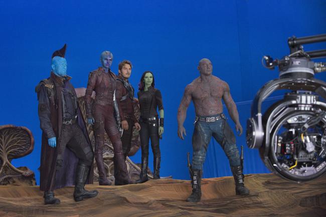 Imagen del set de Guardianes de la Galaxia Vol. 2 (2017)