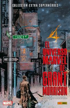 Portada de Colección Extra Superhéroes 68. El universo Marvel de Grant Morrison