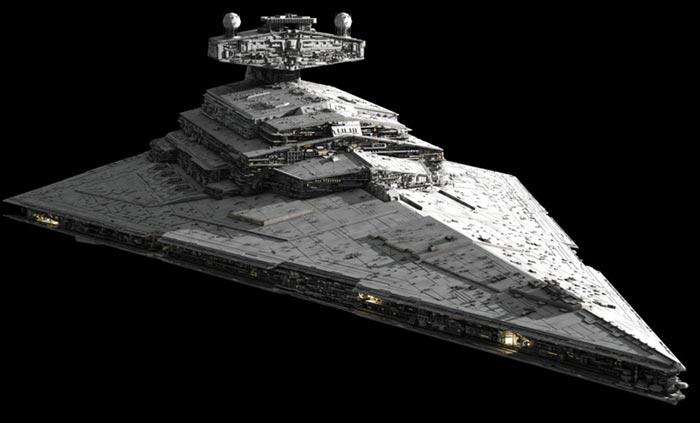 Destructor Imperial en 'Star Wars: The Last Jedi'