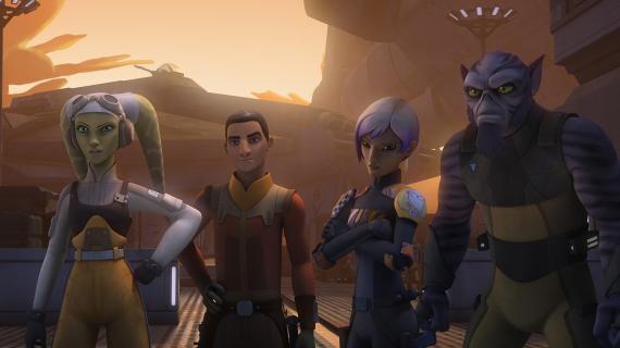 Imagen de la tercera temporada de Star Wars Rebels
