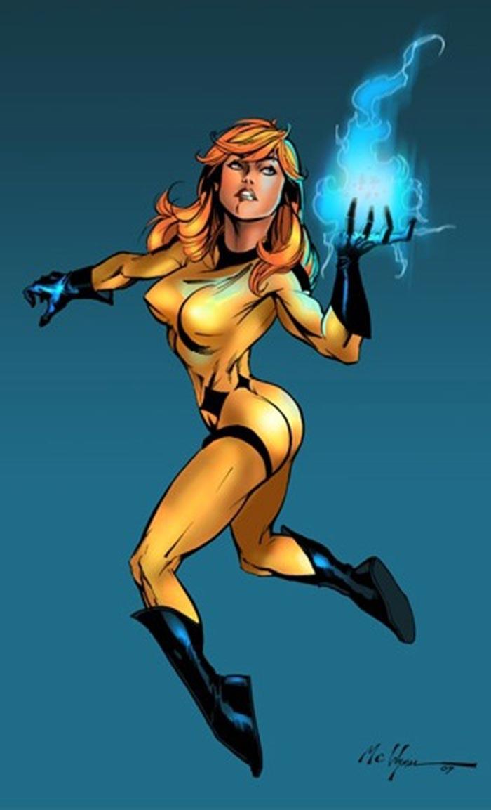 Primera imagen de Crystal en el rodaje de la serie 'Inhumanos'