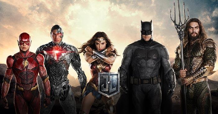 Nueva imagen grupal de la 'Liga de la Justicia' y página web oficial