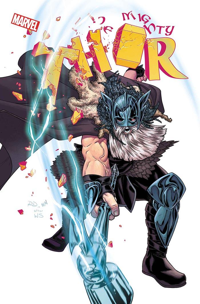 El revolucionario aspecto del nuevo Thor de los cómics de Marvel