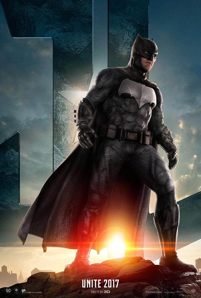 póster de Batman en la 'Liga de la Justicia'
