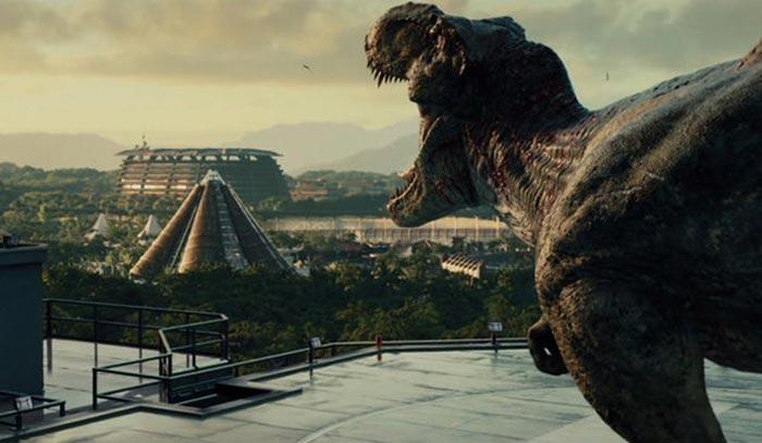 T-Rex en 'Jurassic World 2'
