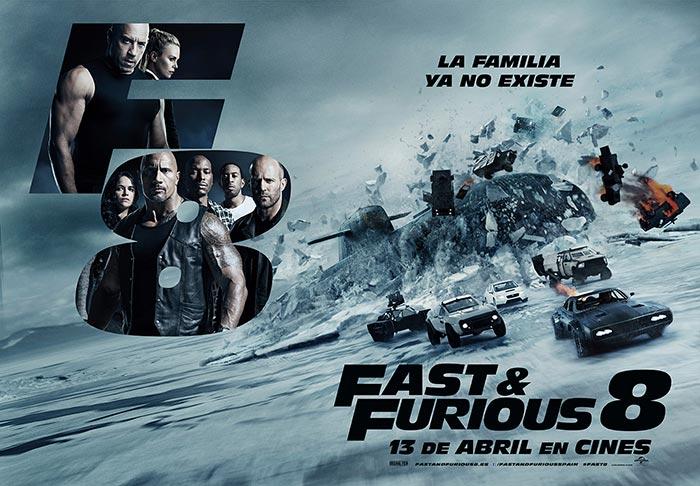 Fast & Furious 8 es el estreno más taquillero de la historia del cine