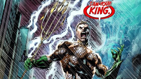 Aquaman en El trono de Atlantis