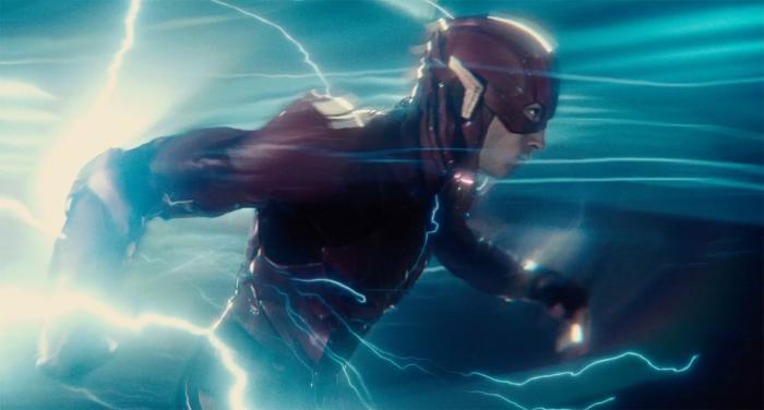 Captura del primer trailer de Justice League (2017), Flash