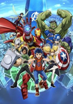 Imagen promocional de Marvel Future Avengers