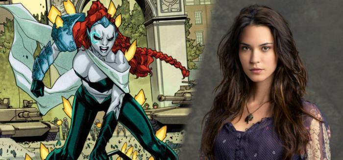 Odette Annable será Reign, la villana de la tercera temporada de Supergirl