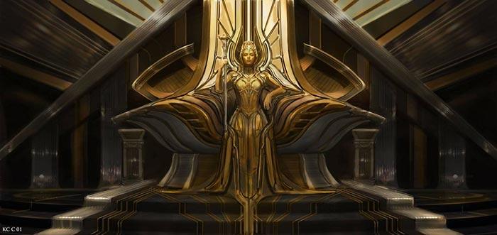 Diseños alternativos de los villanos de 'Guardianes de la Galaxia Vol. 2'