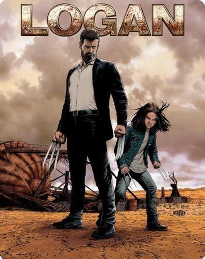 Blu-ray de 'Logan' (steelbook)